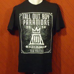 Fall Out Boy & Paramore - 2014 Tour - T-shirt